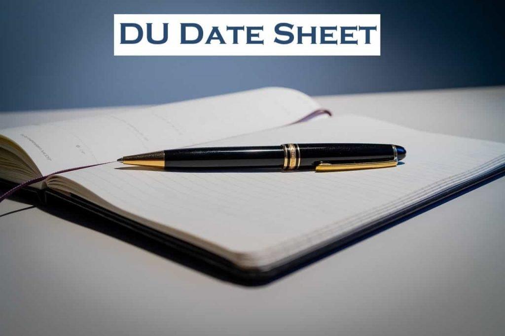 DU Date Sheet