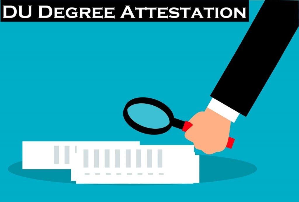 DU Degree Attestation