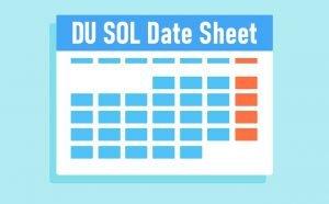 DU SOL Date Sheet