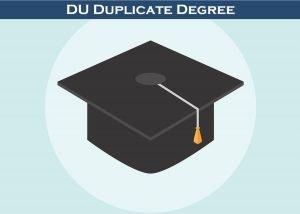 Du Duplicate Degree - Diploma - Certificate
